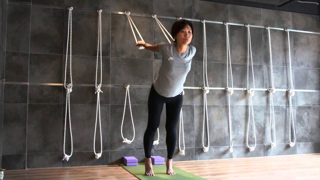 Wall Rope Yoga (Part 1)