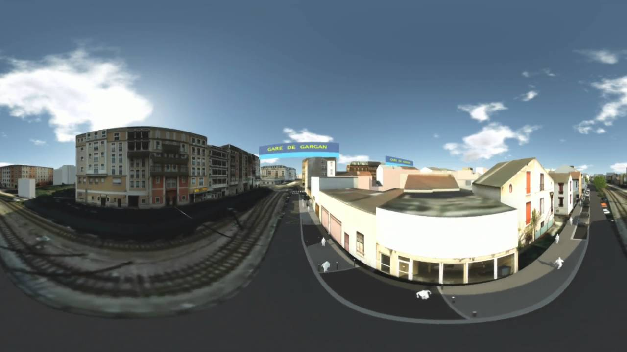Cmp Livry Gargan en ce qui concerne projet t zen 3 - film 360 - livry-gargan/pavillons-sous-bois - youtube