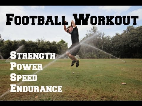 Football Conditioning Workout-20 Football Exercises to make you a BEAST!