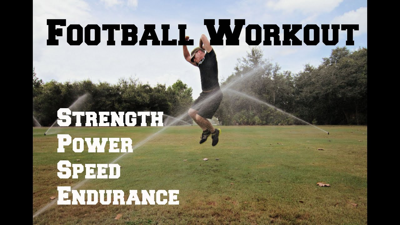 Football Conditioning Workout 20 Exercises To Make You A BEAST On The Field