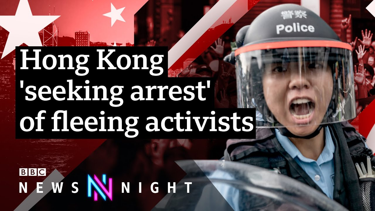 Hong Kong: What next for the city's activists? - BBC Newsnight