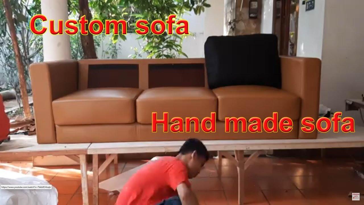 Custom Made Sofa with Original Leather