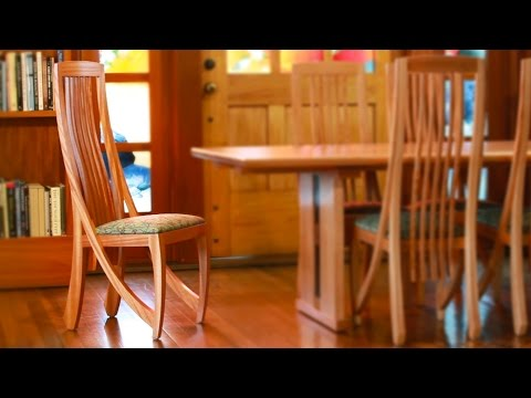 Berkeley Mills Shop -  Making a set of the Harp dining Chairs