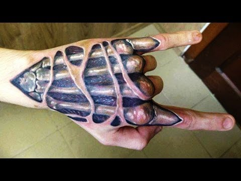 Best 3D Hand Tattoo Designs