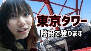 東京タワーって実は階段でも登れるって知ってましたか? 今回は、朝活で...