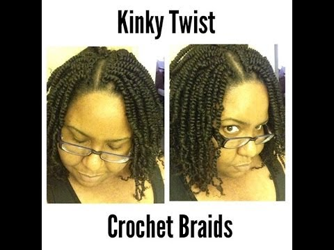 Kinky Twist Crochet Braids Natural Hair Protective