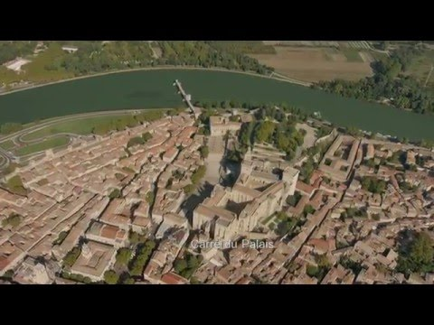Avignon vu du ciel