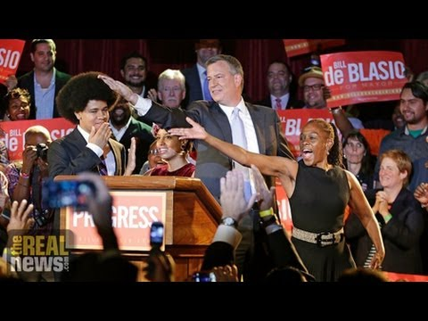NYC Mayor Elect De Blasio: Progressive Hero or Friend of Monied Interests?