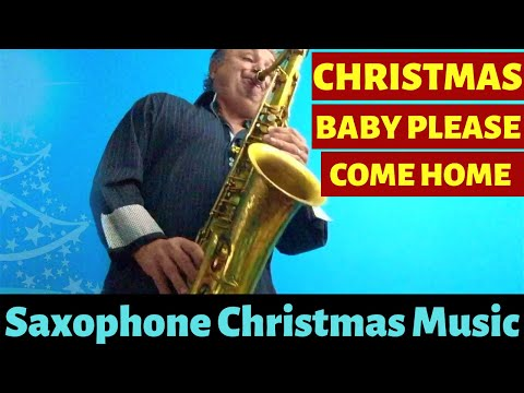 Christmas (Baby Please Come Home) Saxophone Music & MP3 Backing Track