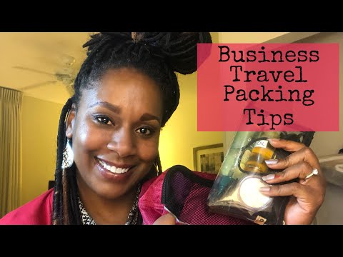 Business Travel Packing Tips