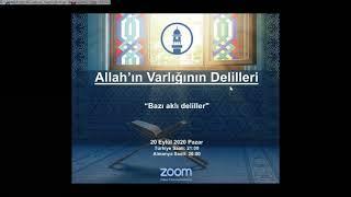 Allah'ın varlığının bazı akli delilleri