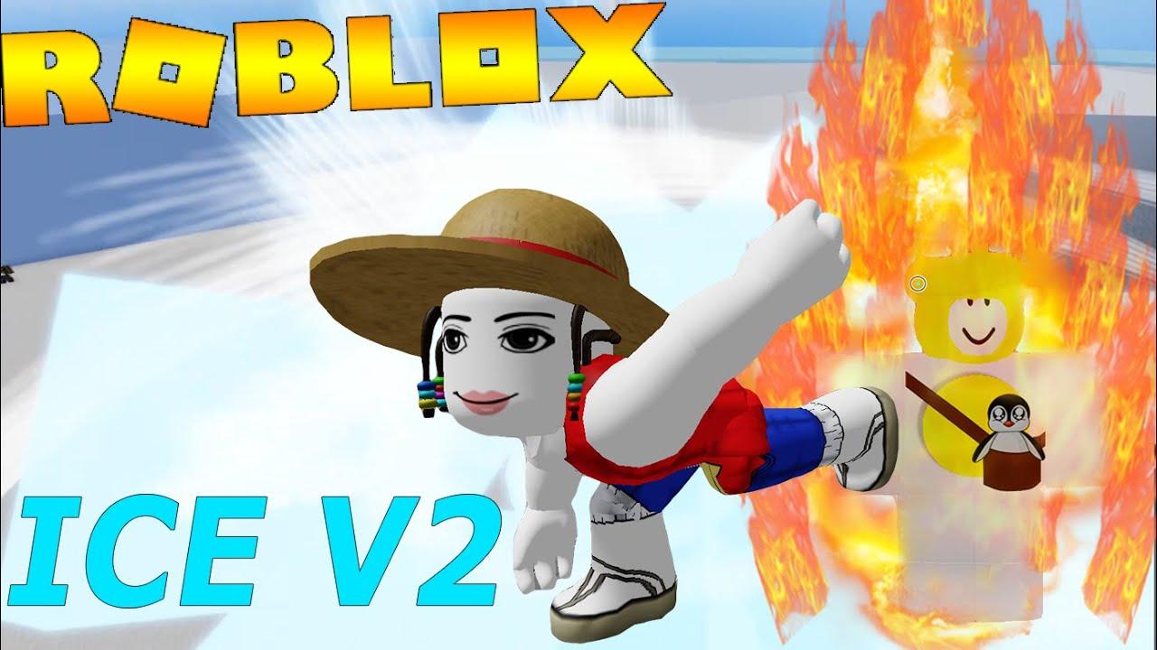 Roblox - Thức Tỉnh Full Ice V2 Đóng Băng Toàn Màn Hình Cực Phê   Blox Fruits