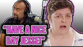 FEMINIST Julie Bindel RUNS from Black Guy Who Says Racism/Sexism Don't Exist!
