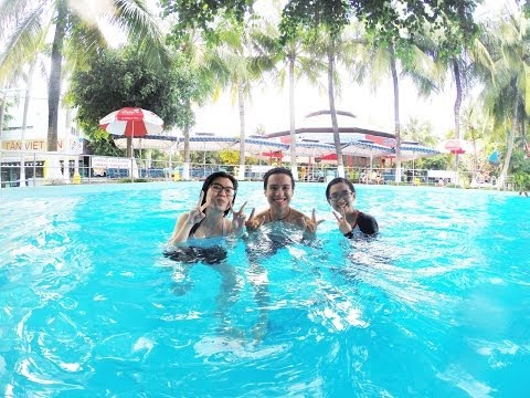 Blackjn , TiNi , RecPu in Dam Sen Water Park