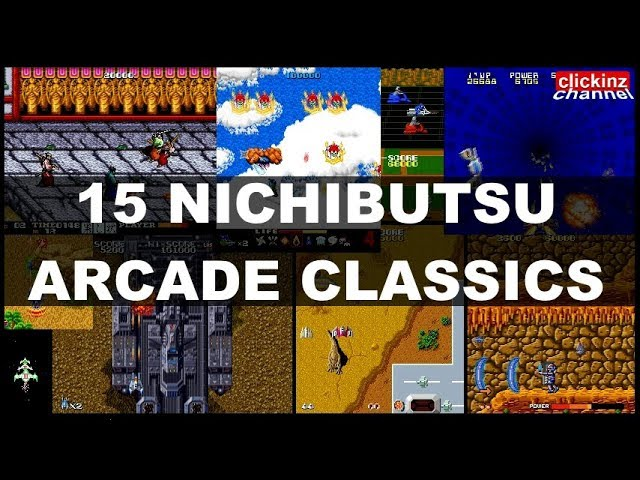 15 Nichibutsu Arcade Games In 10 Minutes Moon Cresta Terra Force Dangar Ninja Emaki Mame Youtube