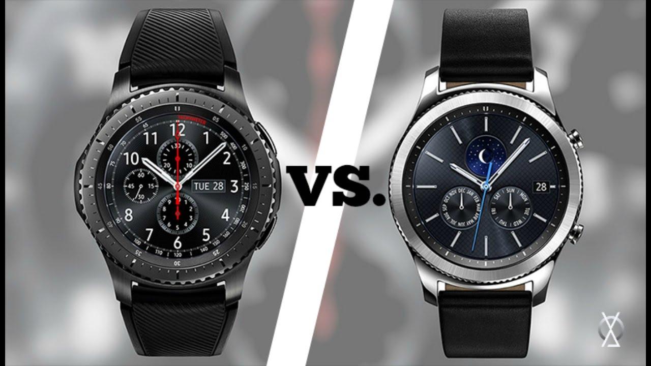 e3e42d5db1f Samsung Gear S3 Frontier vs. Gear S3 Classic (EXPLICADO) - YouTube
