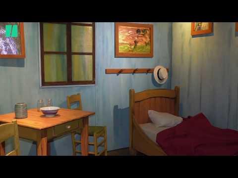Vincent Van Gogh et ses tableaux prennent vie dans cette exposition à Bruxelles