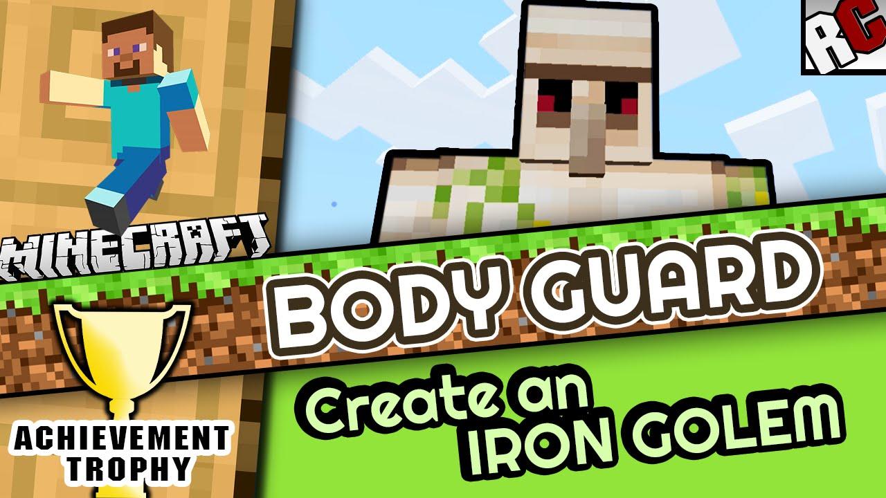 Minecraft BODY GUARD AchievementTrophy Guide Create