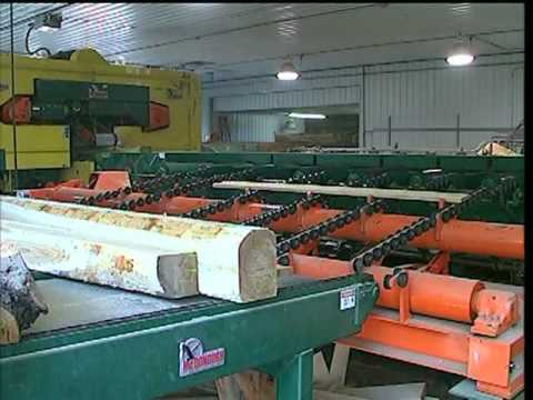 Horizontal Resaw - Sawmill Equipment by McDonough Manufacturing