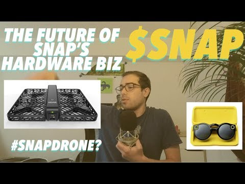 SnapDrone, Spectacles & The Future of Snap's Hardware Biz