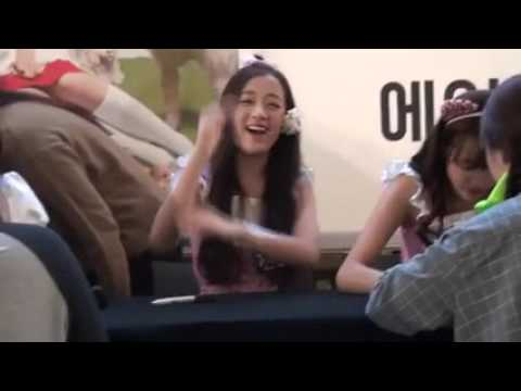 [Fancam] 150913 #Jinsol #진솔 @ Yeouido Fansign #April #에이프릴  by rolypoli20)