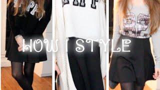 [ How I Style ] La petite jupe patineuse ! Thumbnail