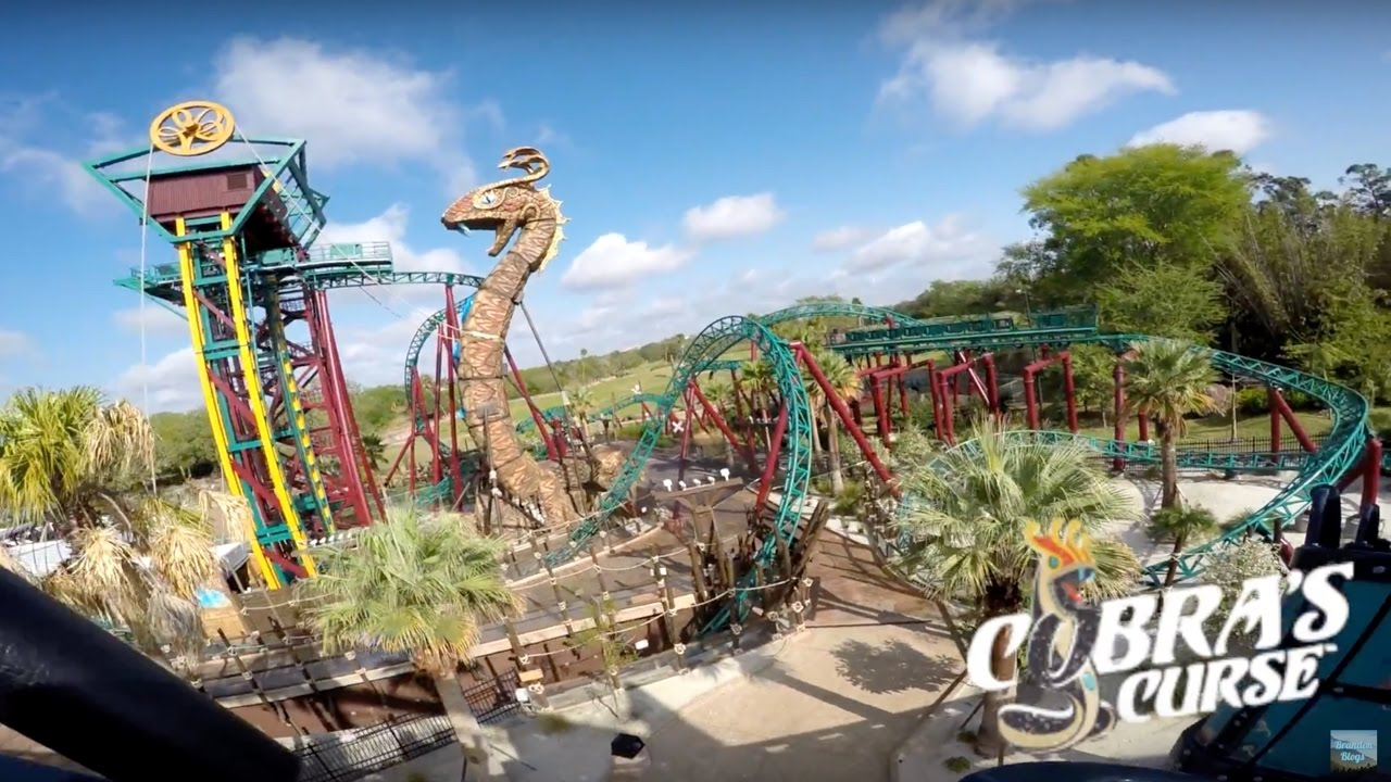 Busch Gardens Tampa Bay Florida Vlog! (Featuring Koaster Kids U0026 Busch  Photographer!) | BrandonBlogs