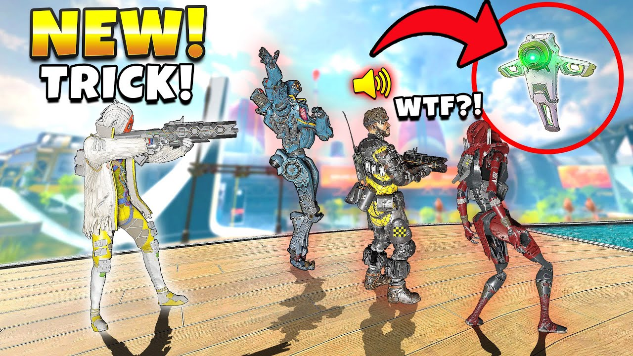 *NEW* IMPOSSIBLE CRYPTO DRONE BAMBOOZLE! - NEW Apex Legends Funny & Epic Moments #490