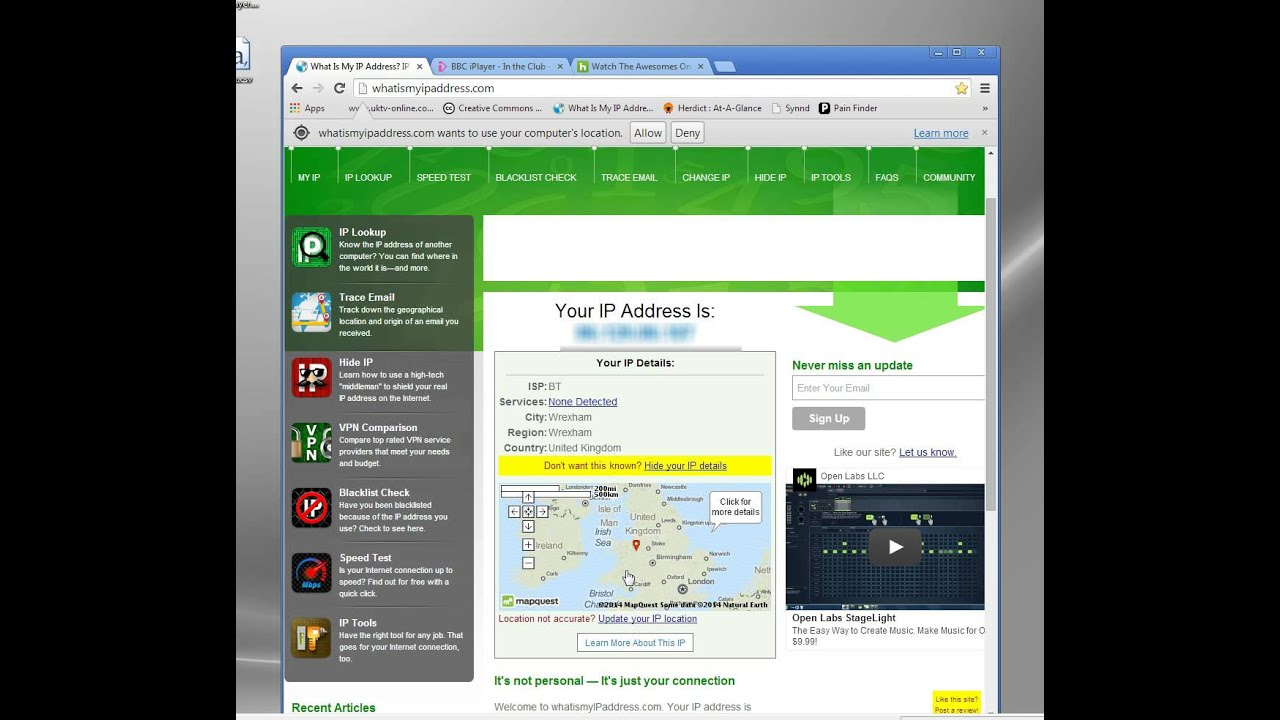 Online Ip Changer Website