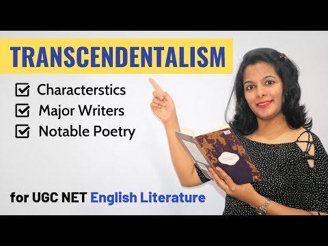 Transcendentalism Study Guide: Background, Writers & Works (For UGC NET English)