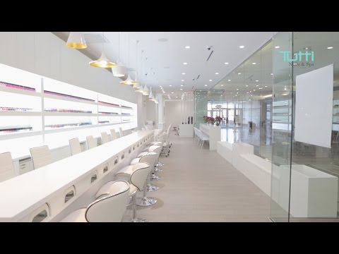 Tutti Nails & Spa at Hackensack, NJ - Interior Video 2016
