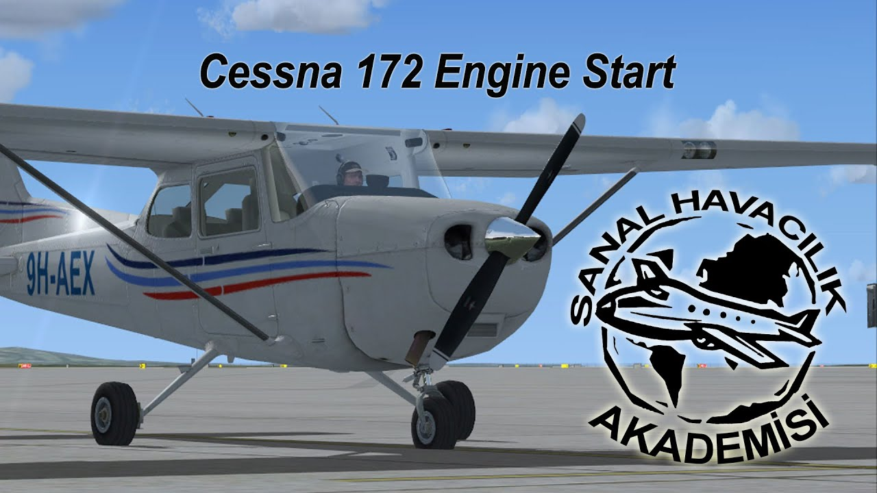 Cessna 172 Motor Al T Rma Youtube