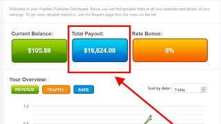 PopAds Payment proof:  Making money $16,600 USD From PopAds thumbnail