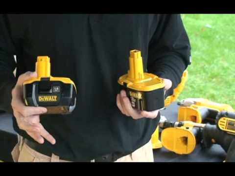 Dewalt Explains Nano Li Ion Battery Technology To Tools