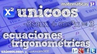 Ecuación trigonométrica 01 BACHILLERATO