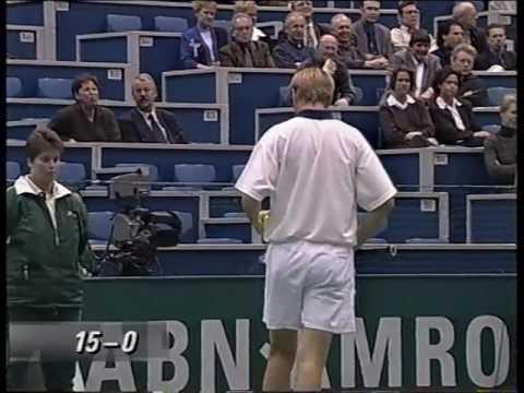 Rotterdam 1999 QF - Kafelnikov vs Federer