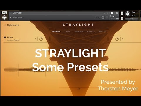 STRAYLIGHT by Native Instruments Some Presets Playthrough