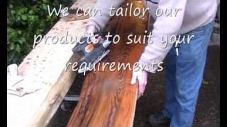 Irish Bog Oak  Mantlepieces Video.wmv