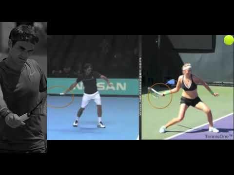 Roger Federer – Forehand – Atp vs Wta