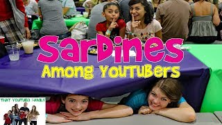 SARDiNES Hide And Seek Among YouTubers - Famous YouTubers! / That YouTub3 Family Family Channel