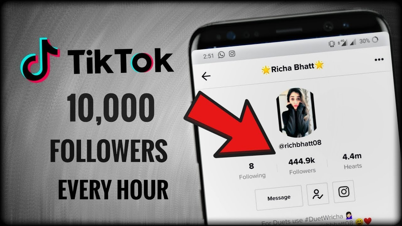 TikTok Unlimited Fans & Likes Trick | TIkTok Hacks | 2019 ✔