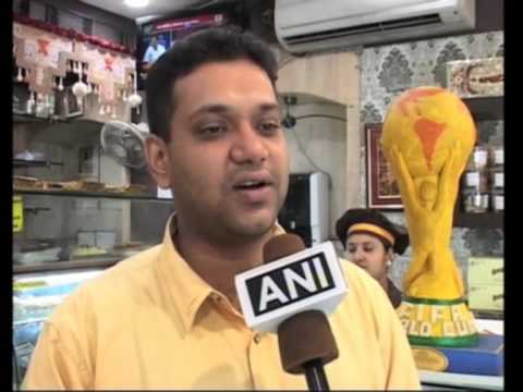 India Makes World Cup Trophy Replica Out Of Sweets as Football Fever Grips Nation