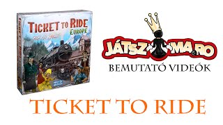Ticket to Ride: Europe bemutató
