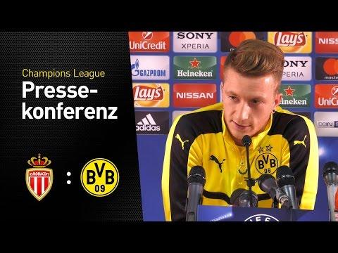 BVB-Pressekonferenz vor dem Rückspiel | AS Monaco - BVB