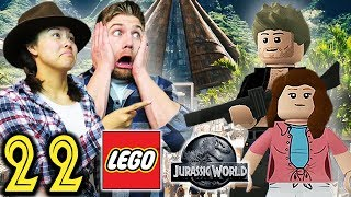 CUSTOM CHARACTERS - Part 22 - Let's Play LEGO Jurassic World