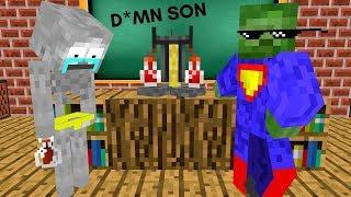 Monster School: ALCHEMY - BREWING CHALLENGE - Minecraft Animation