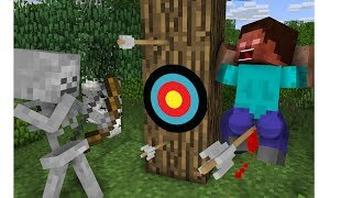 Monster School: Great Archery - Minecraft Animation