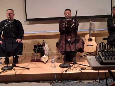 Alash Ensemble at the Arkansas Craft School