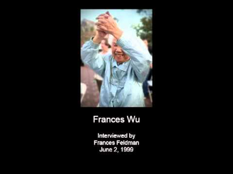 Wu, Frances - Audio Oral History Interview - CSWA