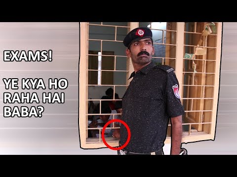 Ye Kiya Ho Raha Hai Baba Ye Kiya Ho Raha Hai | Exams Cheating | Funny Asghar Khoso